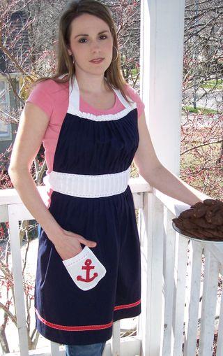 Sailor apron