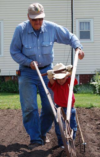 Warren and Grandpa