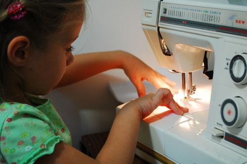 Heather sewing 015