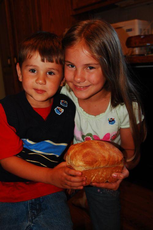 Heidi's first bread 014