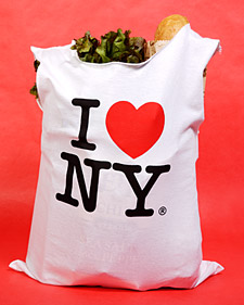 T-shirt bag Martha Stewart