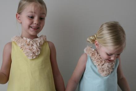 Flower collar Katie did