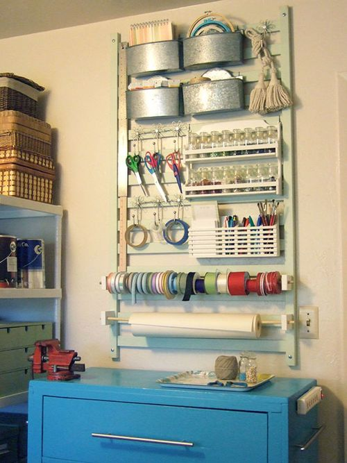Crafty tool station