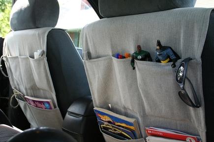 Mayfly car organizer