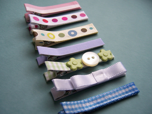 Paperseed ribbon clips