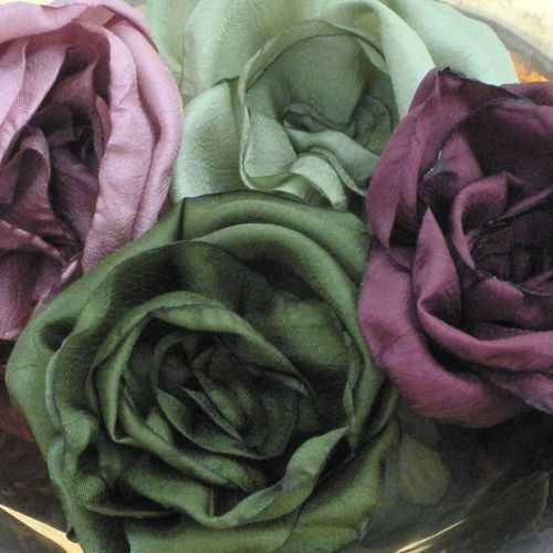 Dubois fabric roses