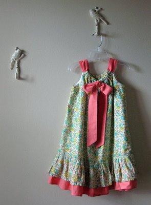 Reversible easter dress