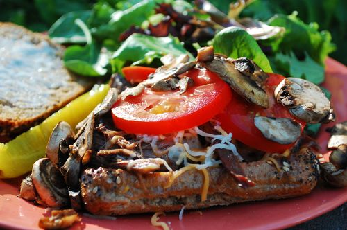 Shredded beef sandwiches 004